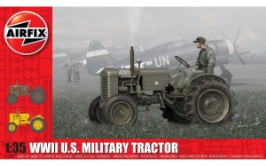 WWII U.S. Military Tractor, Airfix 1367