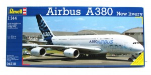 Airbus A 380 Design New livery First Flight, Revell 04218