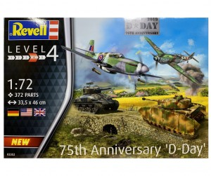 75th Anniversary D-Day, Revell 03352