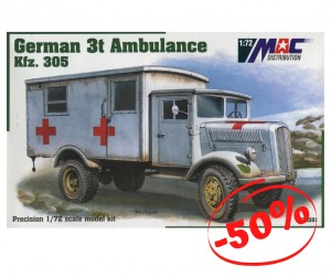 German 3t Ambulance Kfz.305, Mac 72081