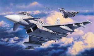 Eurofighter Typhoon (single seater), Revell 04282