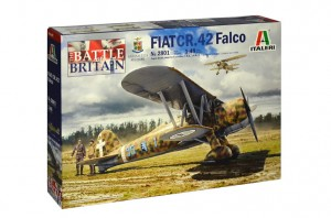 Fiat CR.42 Falco - Battle of Britain, Italeri 2801