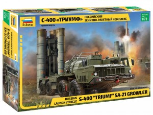 "S-400 ""Triumf"" SA-21 Growler Russian Launch Vehicle, Zvezda 5068"