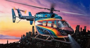 Eurocopter BK 117 Space Design, Revell 04833